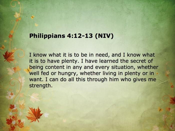 philippians 4 12-13